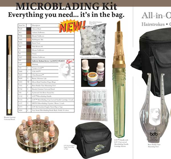 Microblading Complete kit catalog shot